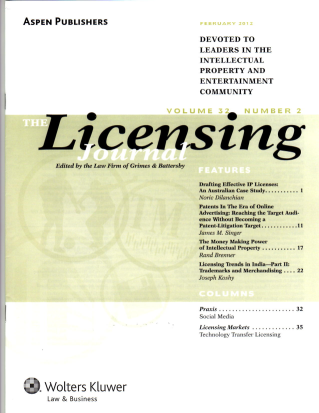 Money Making Power of Licensing